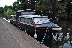 (Sam Tait) Tags: old nottingham england water vintage river boat canal retro trust british inland cruiser waterways grp