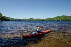 DSC_0265 (Michael P Bartlett) Tags: trees sky mountains water lakes adirondacks canoe ponds kayaks southpond
