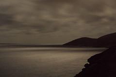 Long Windward Night (Waves Of Light Photography) Tags: ocean sea moon mountain night canon photography rebel xt hawaii long exposure oahu digitalphotography