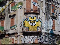 cat (aestheticsofcrisis) Tags: street urban streetart art portugal graffiti mural europe lisbon urbanart intervention guerillaart muralismo muralism projectocrono projectcronos