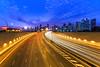 TWB_4243 (xxtreme942) Tags: sunset clouds highway singapore freeway expressway mce lighttrail burningclouds nicesunset singaporefinancialdistrict marinacoastalexpressway
