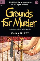 Grounds for Murder (McClaverty) Tags: mystery illustration paperback crime murder pulp jameshill suspense johnappleby