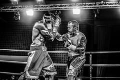 Boxing: Craig Kennedy v Remigijus Ziausys (sophie_merlo) Tags: bw sport boxing