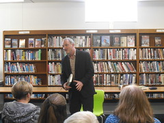 Author Talk - Stephen May (Doncaster Libraries) Tags: festival turn library libraries literary may stephen page author doncaster 2014