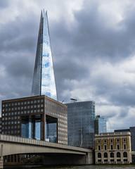 The Shard (Kevin Fandre) Tags: england london thames dramaticsky shard
