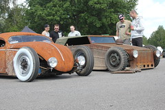 VW Thing Rat Rod (Drontfarmaren) Tags: pictures show park classic car juni vw bug volkswagen rat gallery sweden thing 8 run german rod sverige custom bilder 2014 galleri mantorp bugrun drontfarmaren
