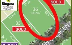 Lot 36, Sarazen 1 Release, Wilton NSW