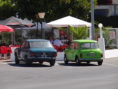 Toyota Corolla + Mini 1000 (Skitmeister) Tags: portugal faro algarve albufeira truckspot carspot skitmeister