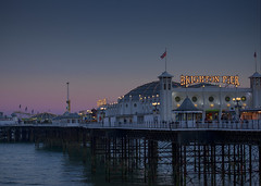 Palace Pier (andyleates) Tags: sunset andy nikon brighton andrew brightonpier palacepier d90 andyleates leates andrewleates