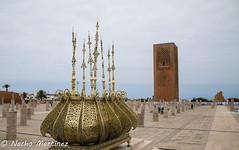Rabat (]{ropotkin) Tags: color torre marocco hassan marruecos rabat