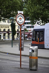 Strassenbahn Haltestelle (The Psychedelic Illusionist) Tags: vienna travel holiday austria cosmopolitan tourist
