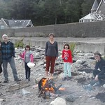 Bonfire by the Loch Linnhe thumbnail