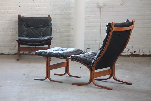 Fine Outstanding Midcentury Modern Ingmar Relling Leather Siesta Gmtry Best Dining Table And Chair Ideas Images Gmtryco