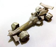 ORIGAMI FORMULA 1 CAR :D (Neelesh K) Tags: car origami f1 origamicar origamif1car