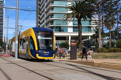 G:link Opening Day - 20/07/14 (Darcy Reynolds) Tags: tram lightrail openingday bombardier goldcoast lrv lightrailvehicle glink gclr flexity2 goldcoastlightrail goldcoasttram gclightrail flexityii