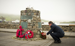Shetland bus memorial (The Prime Minister's Office) Tags: pm primeminister downingstreet no10 davidcameron shetlandisles ukgovernment shetlandbusmemorial