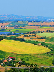 Treia, Marche, Italy- country (bygdb - Gianni Del Bufalo (CC BY-NC-SA)) Tags: italy panorama tourism nature farmhouse rural landscape countryside italia view farm country hills campagna crops agriculture marche marken itali marches italiancountryside marcheregion fattoria rurale campiaitaliana collinemarchigiane themarches ruralhomes  campoitaliano lesmarches italiantourism    destinazionemarche   countrysidetreia italienischenlandschaft italakamparo    treiamacerata countrysidethemarches countrysidemarches destinazionemarche regionedellemarche marchesummer