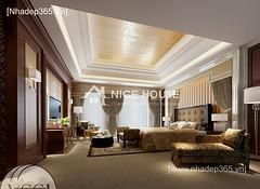Thiết kế nội thất phòng ngủ tân cổ điển_04