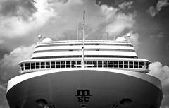 MSC MAGNIFICA (bert  bakker) Tags: cruise amsterdam boot boat mscmagnifica