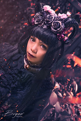 Bad Lolita (Bryght Images) Tags: cosplay cosplaybaguio lolita devil bad black blacklady devilhorn fantasy anime