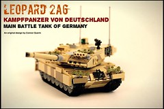 Almost there! (Connor Querin) Tags: lego tank mbt bundeswehr leopard 2 a 6 armour armor vehicle tracked deutschland germany kickstarter kmw