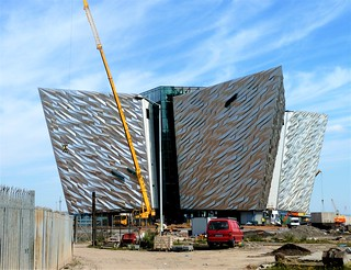 Titanic building, Belfast, nearing completion