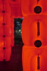 Bibi, Éléphant rouge, 2017 (art_inthecity) Tags: illuminart montréal montreal canada illuminations illumination installationart lightinstallation light lumière québec quartierdesspectacles artpublic publicart art night nuit bibi red rouge elephant plastic plastique bouteilles bottles éléphantrouge