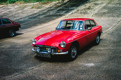 MGB GT (chris rs197) Tags: mgbgt mg brooklands lfd533e