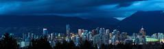Futurama 🏪💙 Vancouver, BC (Michael Thornquist) Tags: vancity cityofvancouver vancouverlookout bcplace bcplacestadium queenelizabethpark city cityskyline skyline vancouver britishcolumbia dailyhivevan vancitybuzz vancouverisawesome veryvancouver 604now photos604 explorecanada ilovebc vancouverbc vancouvercanada pacificnorthwest pnw metrovancouver gvrd canada