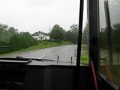 Buss 550, Alingsåsvägen, Hedared, 2009 (2)