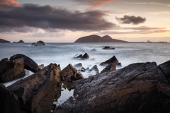 Blasket Sunset 2 (Graham Daly Photography (ASINWP)) Tags: canon6d countykerry dingle dinglepeninsula grahamdalyphotography landscapephotography leefilters longexposure nisifilters seascapes sunset thekingdom blasketcentre dusk eveninglight irishlandscapephotographer irishlandscapes landscapesofireland magichour outdoors theblasketislands wildatlanticway blasketsunset thegreatblasketisland blasketislands