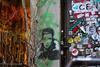(Aurelia Li) Tags: berlin germany wall graffiti hausschwarzenberg scheunenviertel stickers streetart