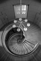 Karussell (Sascha Gebhardt Photography) Tags: nikon nikkor d800 1424mm lightroom lostplaces fototour fx cc photoshop schwarzweis bw travel tour treppenhaus treppe staircase stairs steps