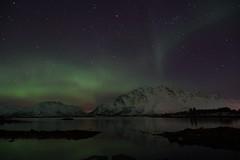 Aurora Borealis (clemensgilles) Tags: nordlys norway nordland lofoten polar lights northern night aurora borealis