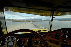 (Ian Threlkeld) Tags: freightliner trucking driving kelowna