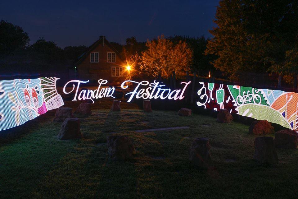 Tandem Festival light show