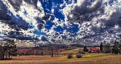 IMG_0350-52Ptzl1scTBbLGER2 (ultravivid imaging) Tags: ultravividimaging ultra vivid imaging ultravivid colorful canon canon5dmk2 clouds farm fields barn rural scenic vista stormclouds pennsylvania pa panoramic earlyspring spring trees
