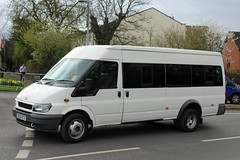 Unknown owner DS05 ETV, Ford Transit in Swindon Lane, Cheltenham (majorcatransport) Tags: shropshirebuses shropshirecountycouncil ford fordtransit cheltenham