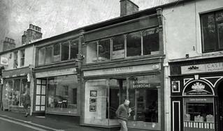shop fronts, Clitheroe, Lancs.