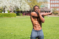 IMG_5986 (Zefrog) Tags: zefrog london uk muscle man portraiture sixpack fit fitness stretching stretch blackman iyo personaltrainer bodybuilder