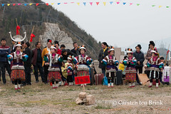 Dancers at the festival (10b travelling / Carsten ten Brink) Tags: 10btravelling 2016 asia asie asien carstentenbrink china chine chinese guizhou iptcbasic kaili leishan miao prc peoplesrepublicofchina qiandongnan southwest tougu tugu children courtship dancers festival lushen lusheng province rehearsal ritual southernchina tenbrink village 中华人民共和国 中国