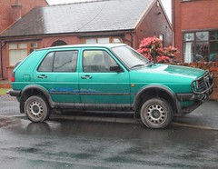VW Golf Mk2 Country (Lazenby43) Tags: vw volkswagen 4x4 golf