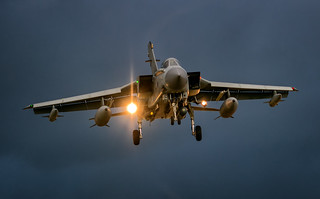 Tornado GR4 Returning just after Sun Down in the Gloom.CR (1 of 1)