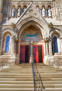 Guelph Ontario ~ Canada ~ Basilica of Our Lady Immaculate  ~  National Historic Site of Canada ~ Portico
