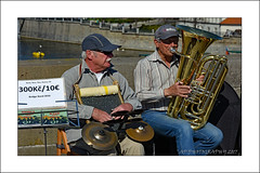 Music on the Bridge (prendergasttony) Tags: bridge music live vacation holiday people charles prague europe nikon d7200 outdoors river shadows reflections busking