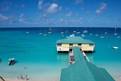 From Our Balcony (The Good Brat) Tags: bridgetown barbados caribbean beach blue sailboats sailing tropical