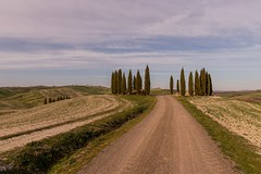 Meravigliosa Val d'Orcia (carlo.goweather) Tags: toscana tuscany italy cipressi canon canon100d canoneos100d canon1018 canoneos campagna landscape sky skylight hills nature lovenature siena