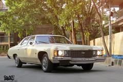 Restored: 1974 Chevrolet Impala, Bangladesh. (Samee55) Tags: bangladesh dhaka gulshan carphotoshoot 2017 chevrolet restored classic
