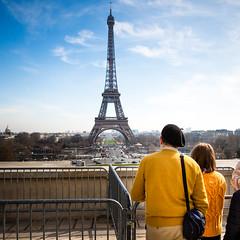 Eiffel tower in Paris (Zeeyolq Photography) Tags: eiffeltower béret paris france