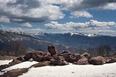 12 Old Mountain (kana movana) Tags: oldmountain staraplanina mountain spring hills mounts clouds sky forest snow serbia srbija d90 babinzub